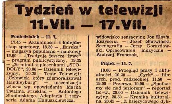 Telewizja w 1960 roku 01