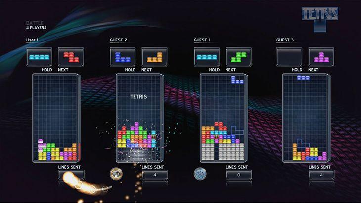 Tetris multiplayer