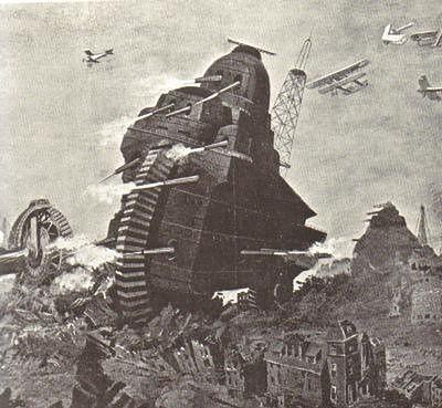 The Fahrpanzer