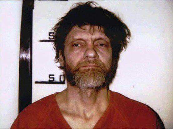 Theodore Kaczynski/Fot. FBI