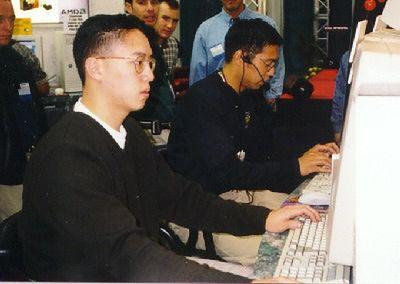 Thresh podczas turnieju w 1997 roku