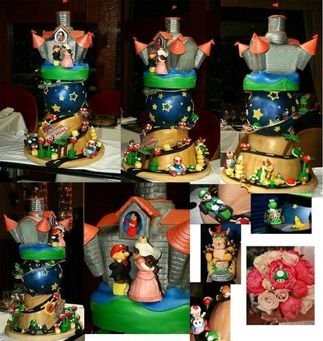 Tort w stylu Mario