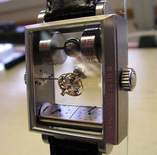 Niesamowity zegarek z mechanizmem tourbillon