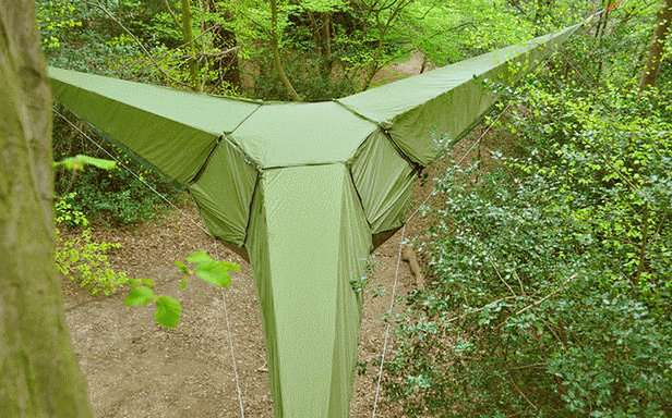 Wiszący namiot (Fot. Tentsile.com)