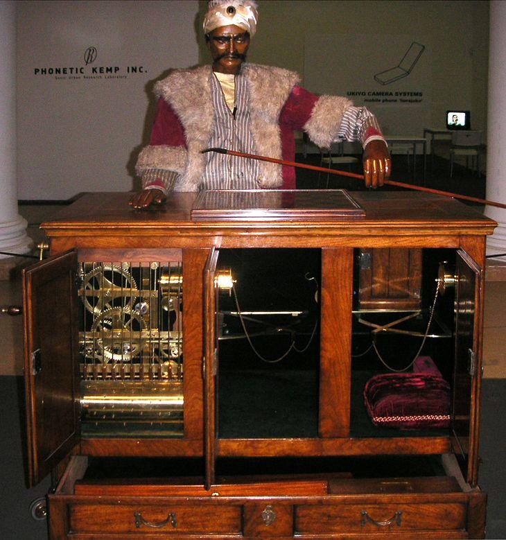 Współczesna rekonstrukcja mechanicznego Turka