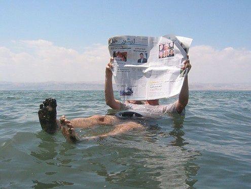 turysta na morzu