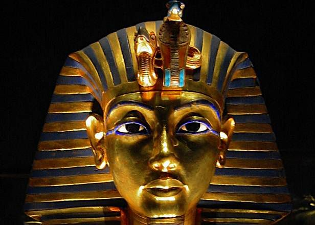 Pośmiertna maska Tutanchamona
