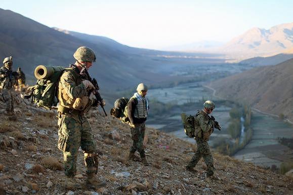 Żołnierze USA w Afganistanie (fot. upi.com)