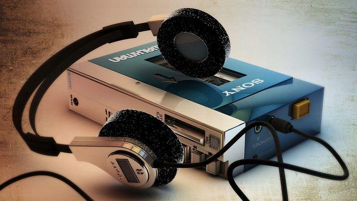 Walkman produkowany przez markę Sony