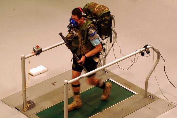 Warrior Web - testy wyposażenia