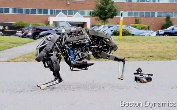 WildCat - galopujący robot od Boston Dynamics