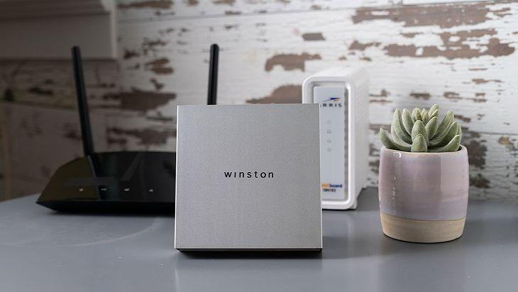 Winston - prywatność z pudełka