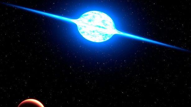 Jak szybko może wirować gwiazda? (fot.: NASA / ESA i G. Bacon (STScI))