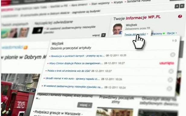 Film prezentujący integrację WP z Facebookiem
