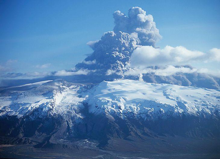 Erupcja wulkanu Eyjafjallajökull