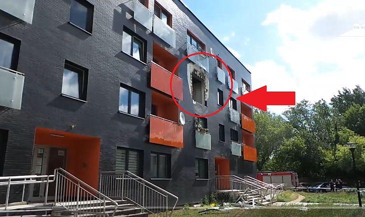 Mieszkanie, w którym doszło do wybuchu hulajnogi elektrycznej