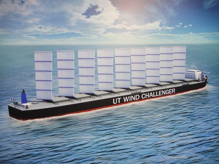 Wind Challenger Project (Fot. Gizmag.com)