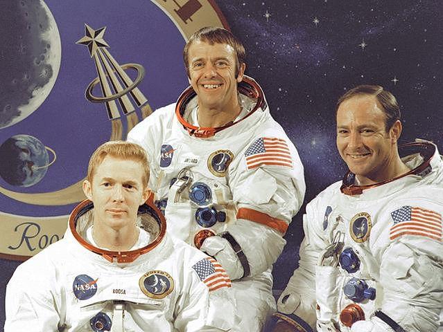 Załoga Apollo 14, fot. WikiCommons
