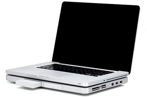 Zemno-DeskBook-Pro-Portable-Notebook-Docking-Station-with-macbook