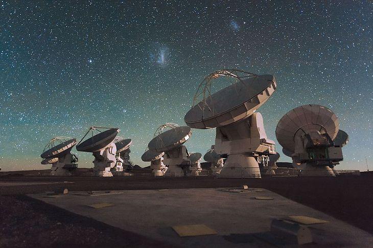 Radioteleskopy ALMA