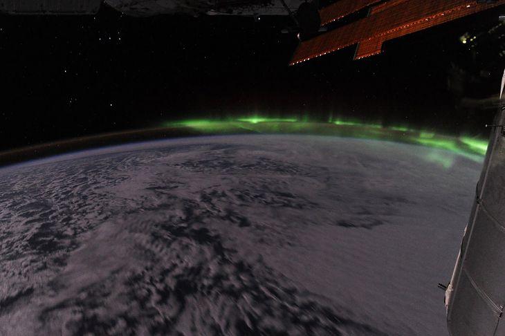 Zorza polarna (fot. Ron Garan/NASA)