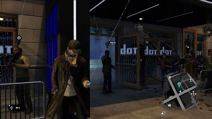 Fragment gry Watch Dogs