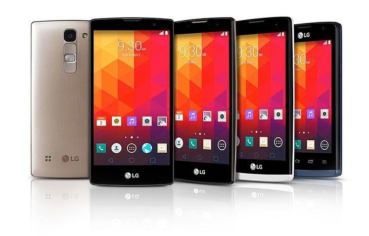 LG Magna, Spirit, Leon i Joy