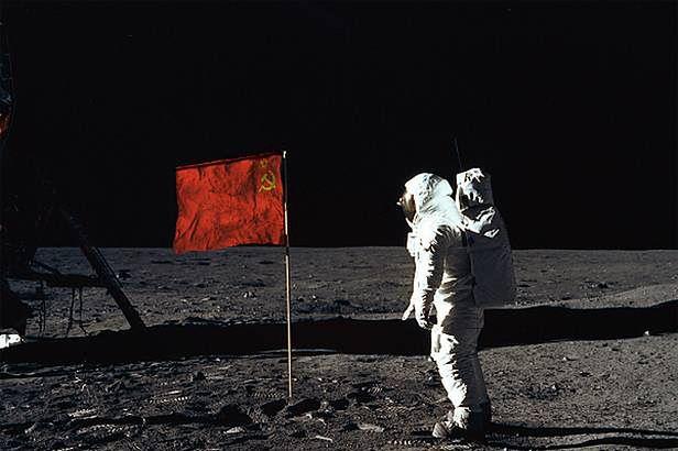 Rosjanie również mieli swój program księżycowy (Fot Myscifionline.com)