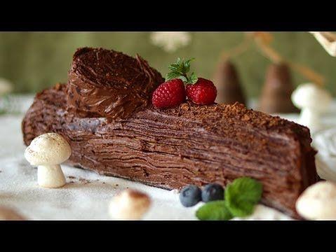 poznaj przepis na niezwyk e ciasto wi teczne czyli jak wykona pyszne czekoladowe polano. Black Bedroom Furniture Sets. Home Design Ideas