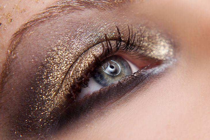 Złoty Makijaż Jejświatpl