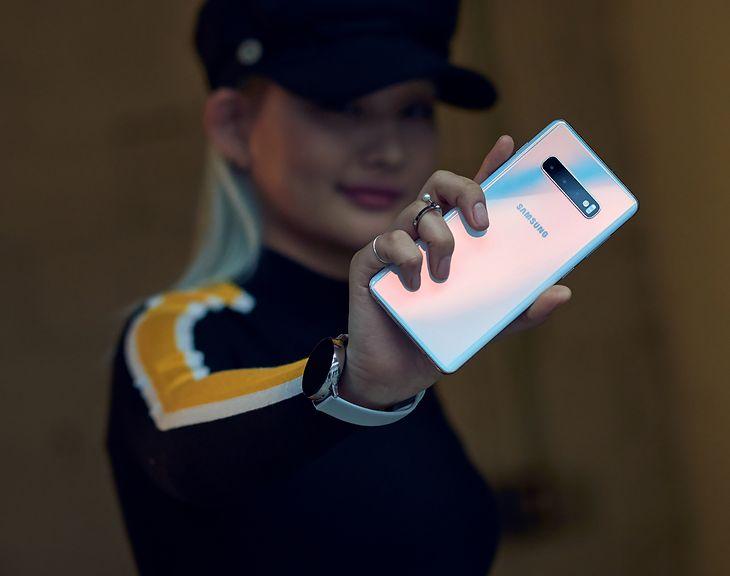 Galaxy S10 ma dostać Androida 12