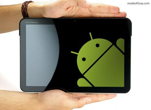 Motorola XOOM, fot. madeofGray.com