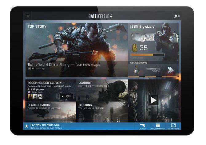 Battlefield 4 Commander na tablety