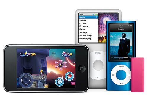 iPody touch i nano tańsze na Święta
