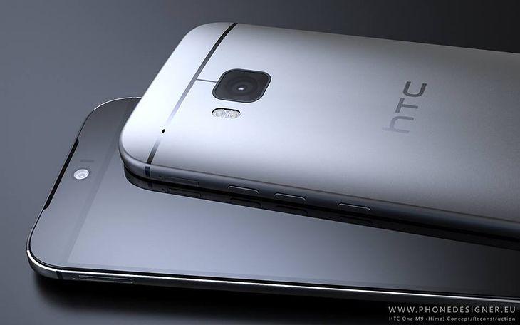 HTC One (M9) - koncept oparty o przecieki