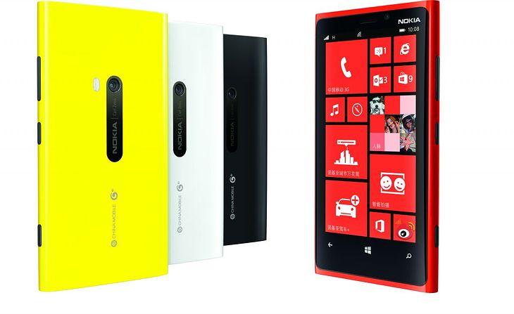 Lumia 920T, która trafi na chiński rynek