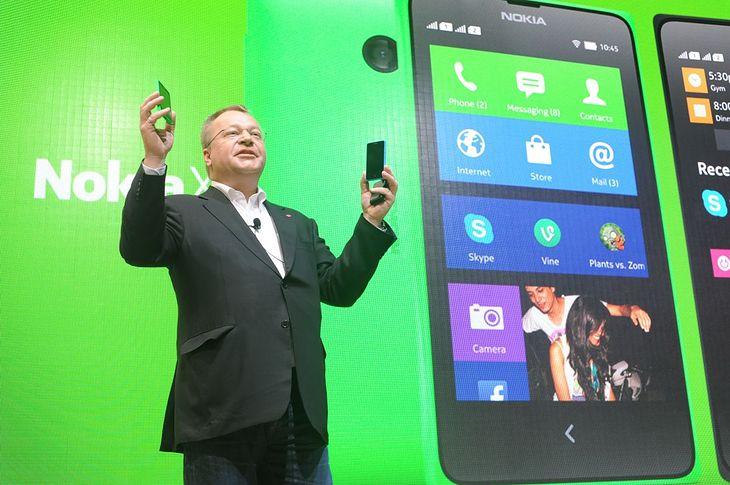 Stephen Elop prezentuje nową linię urządzeń Nokii