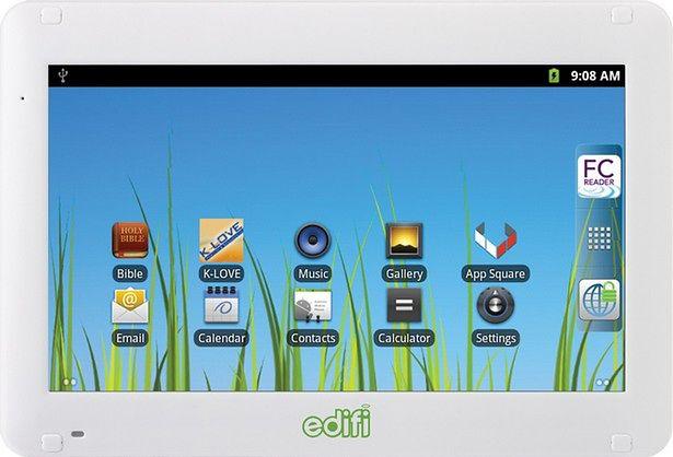 Chrześcijański tablet EDIFI - czyli Cydle M7, tylko droższy (fot.: familychristian.com)