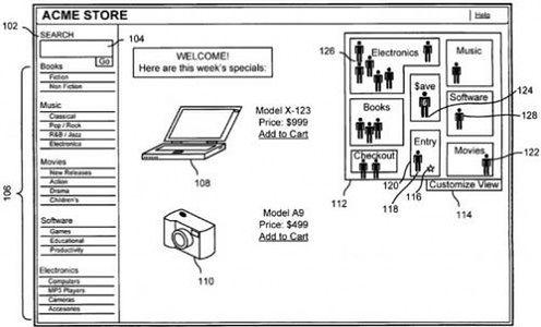 Apple patentuje Apple Store 3D, czyli Steve w krainie Avatara