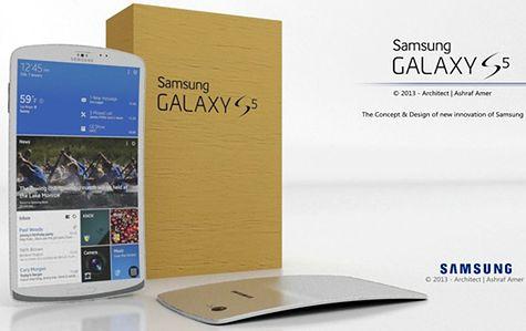 Galaxy S5 - koncept Ashrafa Amera