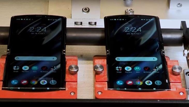 Motorola Razr na testach wytrzymałości