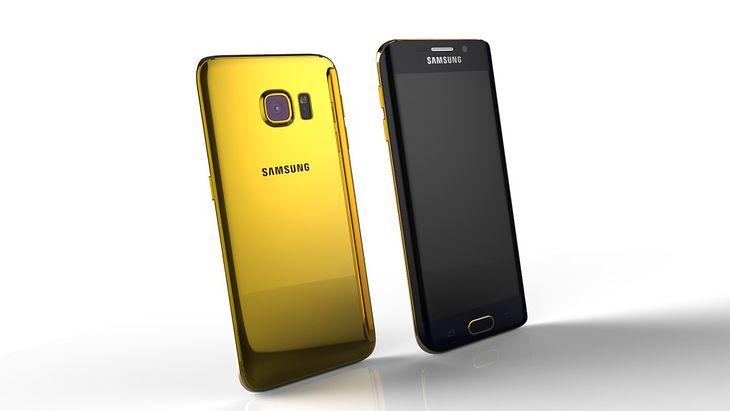 Złoty Samsung Galaxz S6 edge