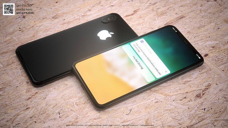 iPhone 8 - wizualizacja bazująca na wyciekach