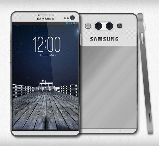 Koncept Samsunga Galaxy S IV (fot. concept-phones.com)