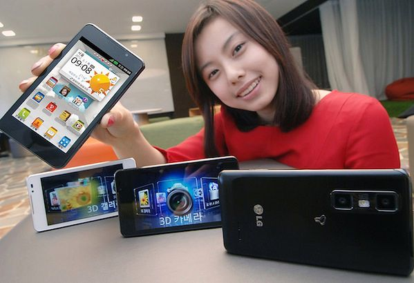 LG Optimus 3D Cube | fot. engadget