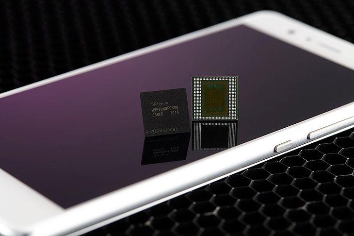 Nowe kości DRAM LPDDR4X 8 GB firmy SK Hynix