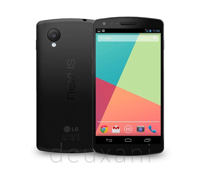 Nexus 5 vs. Nexus 4   fot. theverge.com by deuxani