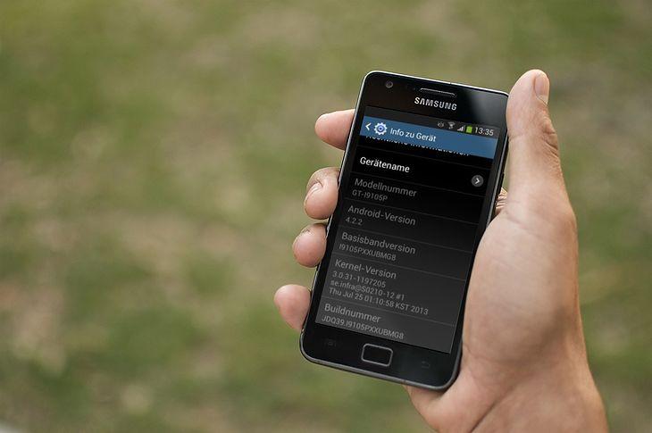Android 4.2 dla Galaxy S II Plus
