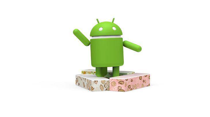 Logo Android 7.0 Nougat