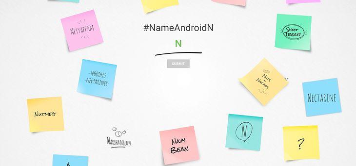 Android N - użytkownicy mogą pomóc w wyborze nazwy systemu